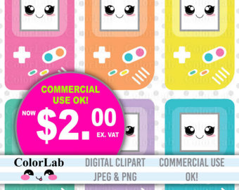 Geek clipart video game Clipart Game Girl Clipart Cute