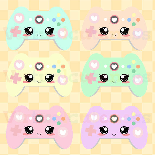 Geek clipart video game Controllers Game Clipart Kawaii