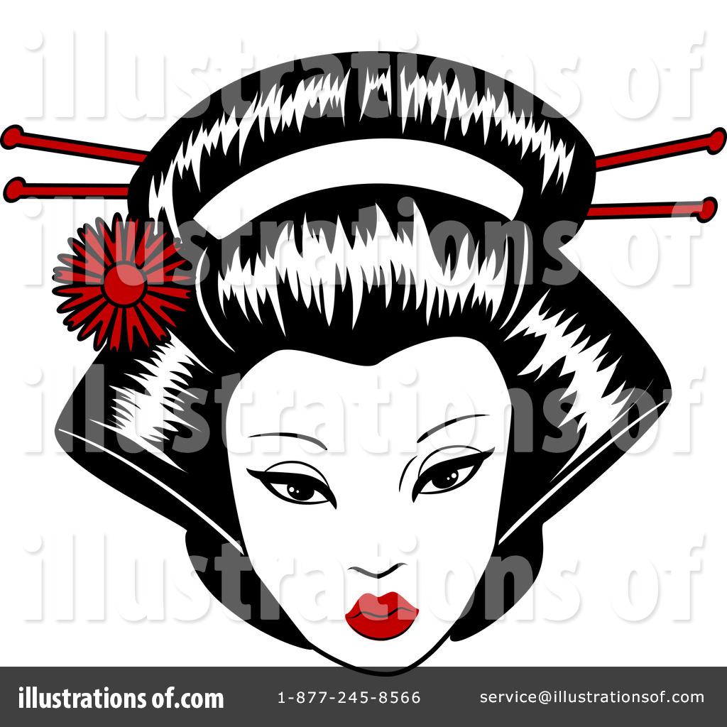 Geisha clipart Formidable (RF) r Clipart r