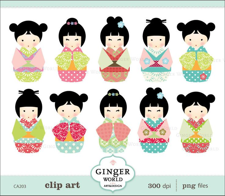 Cyber clipart lady boutique Digital kawaii Pinterest 50 images