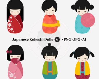 Geisha clipart china doll INSTANT on clipart Pinterest about
