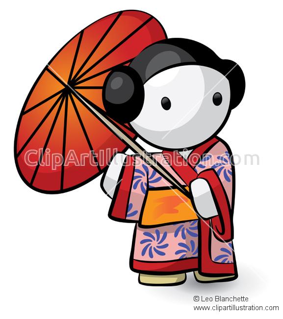 Kimono clipart japanese boy Land Rising ClipArt Bright Land