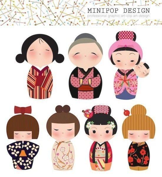 Kimono clipart japanese boy Female Clip Japanese Files GEISHA