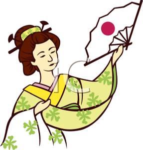 Geisha clipart japanese person Free Japan Panda Art Clipart