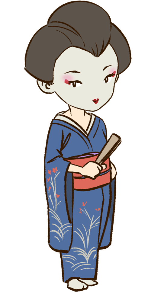 Geisha clipart japanese person Be blogs life geisha your