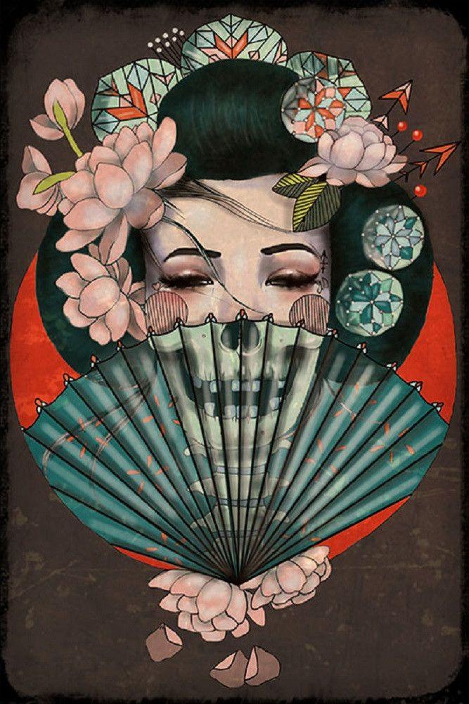 Geisha clipart japanese traditional art Art  Pinterest 10+ Best