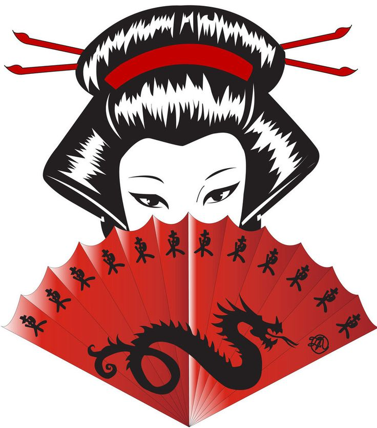 Geisha clipart japanese traditional art Images best Geisha about 68