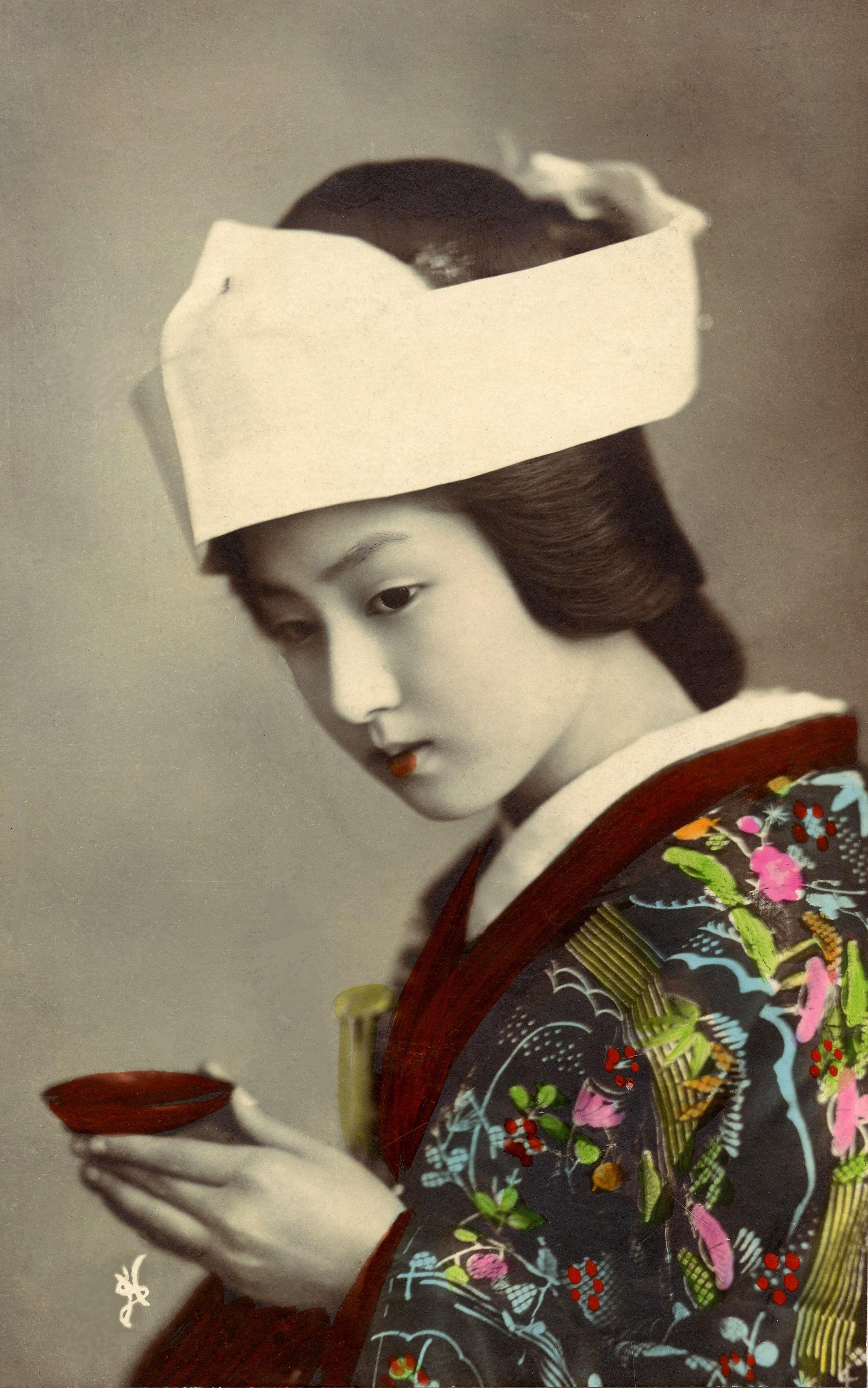 Geisha clipart public domain Stock Portrait Free portrait