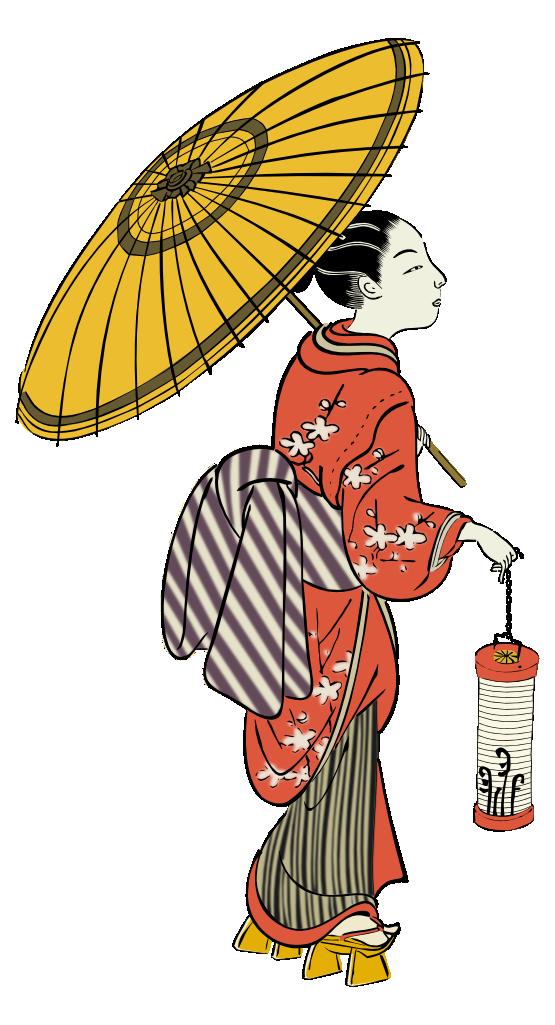 Geisha clipart public domain Art to Domain Japanese 5