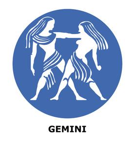 Gemini clipart Sign Sign Zodiac Zodiac Clipart