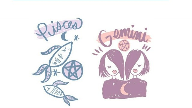 Gemini clipart friend Friends astrology astrology tumblr blogastrology