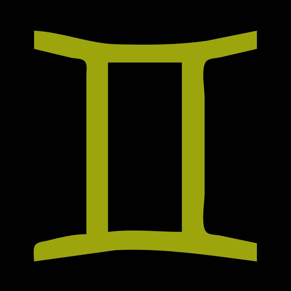 Gemini clipart symbol » Gemini Symbol Static Static