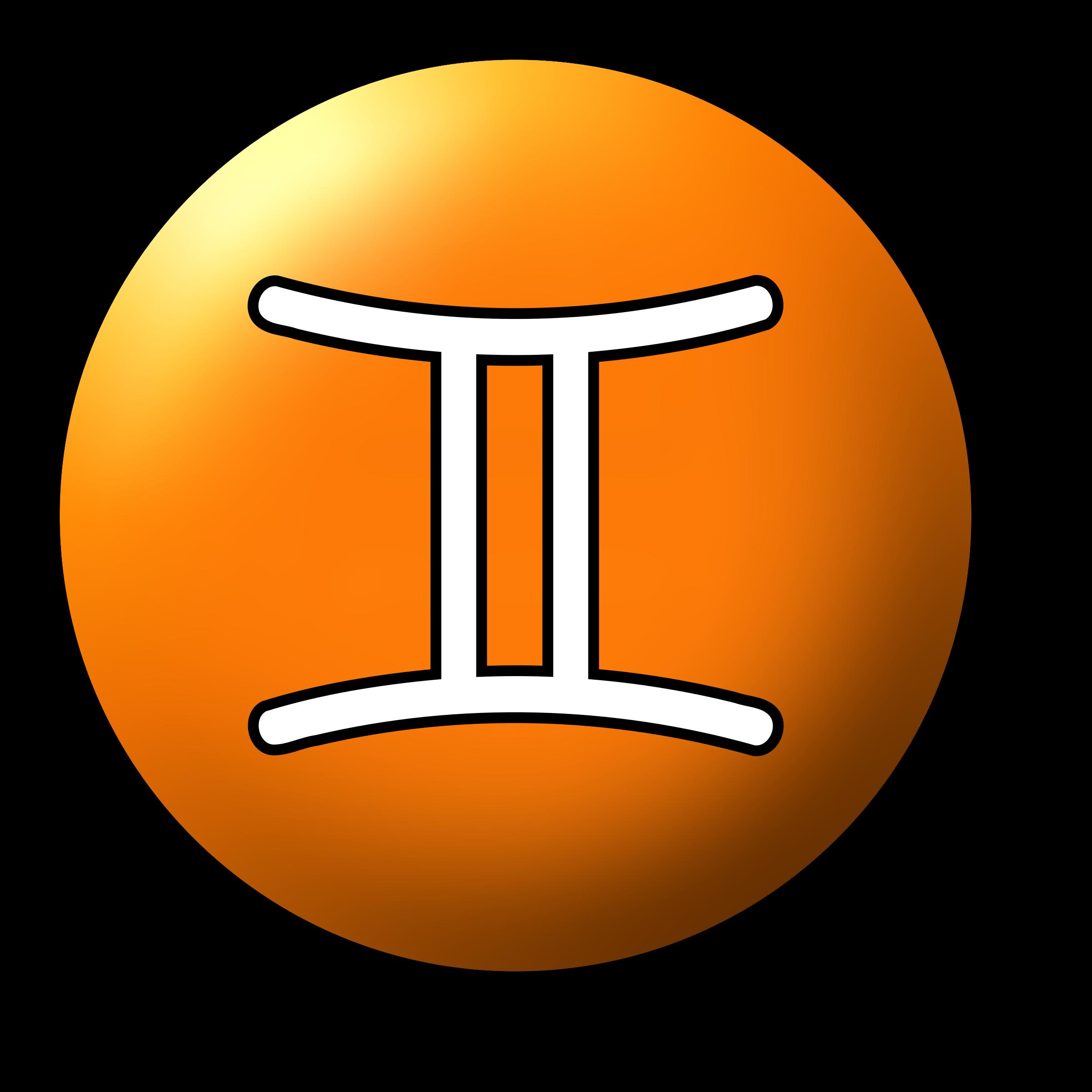 Gemini clipart symbol 3 symbol Gemini Clipart symbol