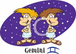 Gemini clipart twin Royalty With Free Twins Clipart