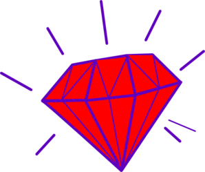 Gems clipart diamond shape Clipart  Art on Gem