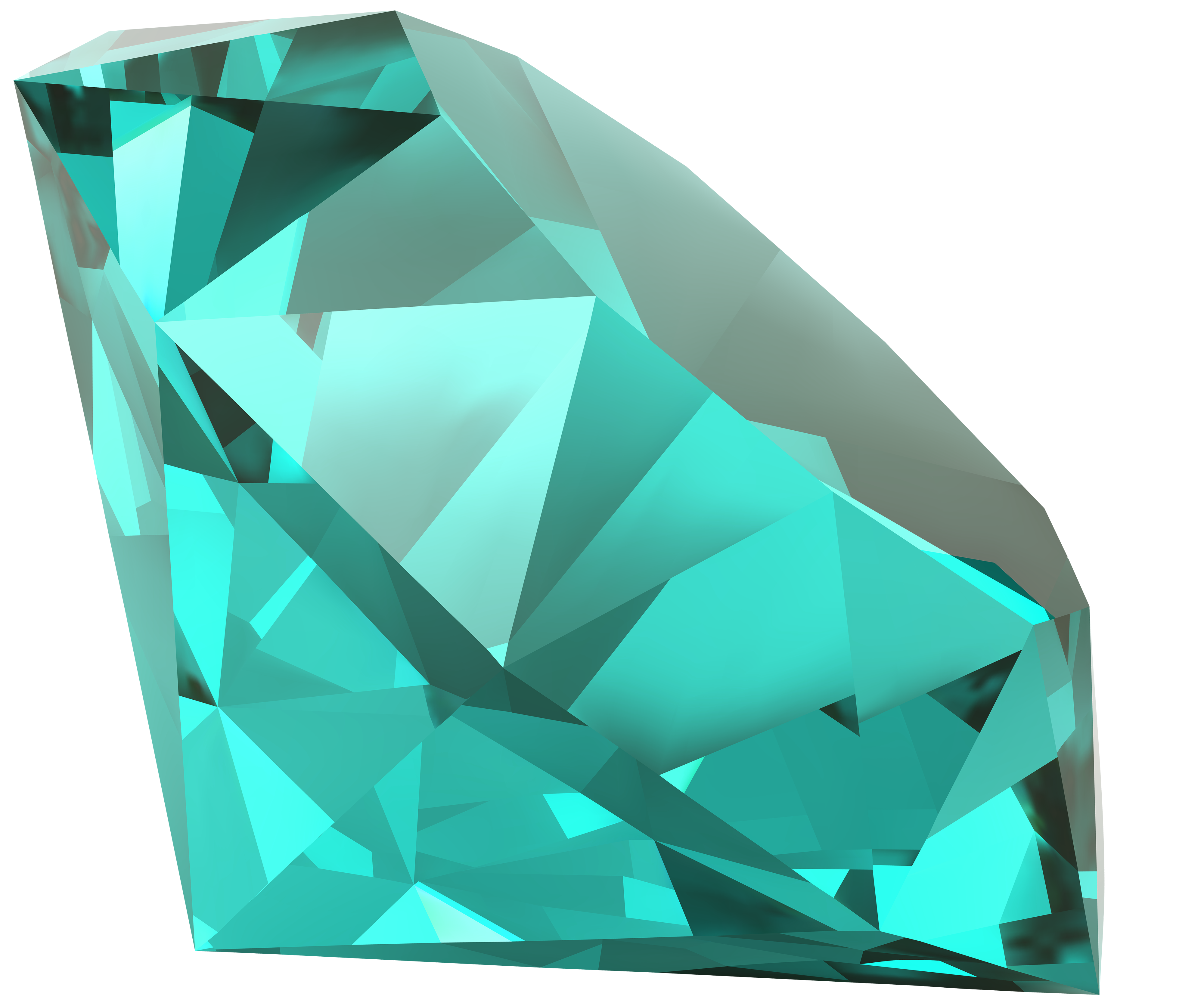 Crystals clipart diamond Blue Blue Clipart Clipart WEB