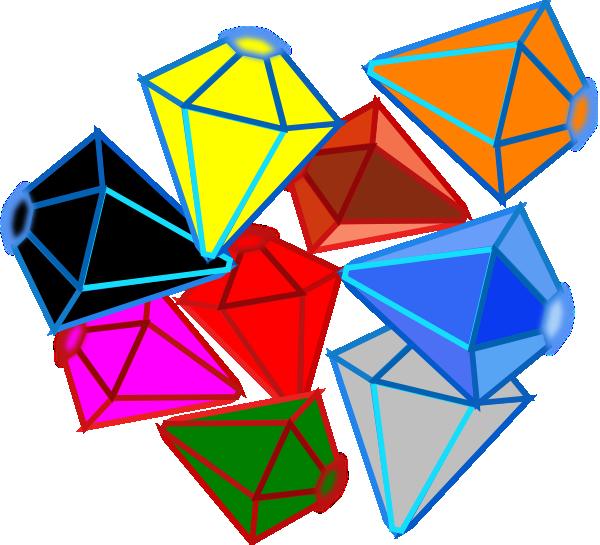 Gems clipart cartoon  royalty Gems Art vector