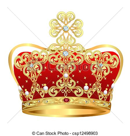 Gems clipart crown jewels Jewels and ornament and Vector