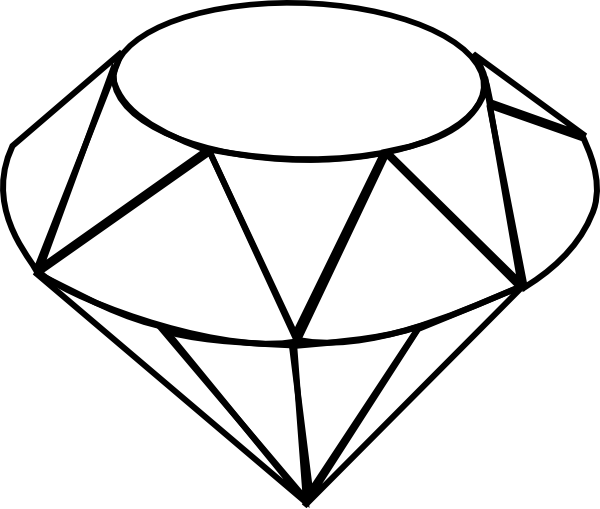 See clipart diamond top Inspiration Pinterest Diamond TattooDiamond DrawingClip