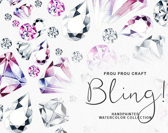 Gems clipart diamond Clipart Fashion ClipArt Wedding Gems