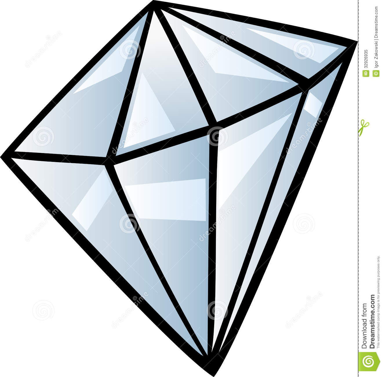 Gems clipart diamond Clip Art clipart Cartoon black