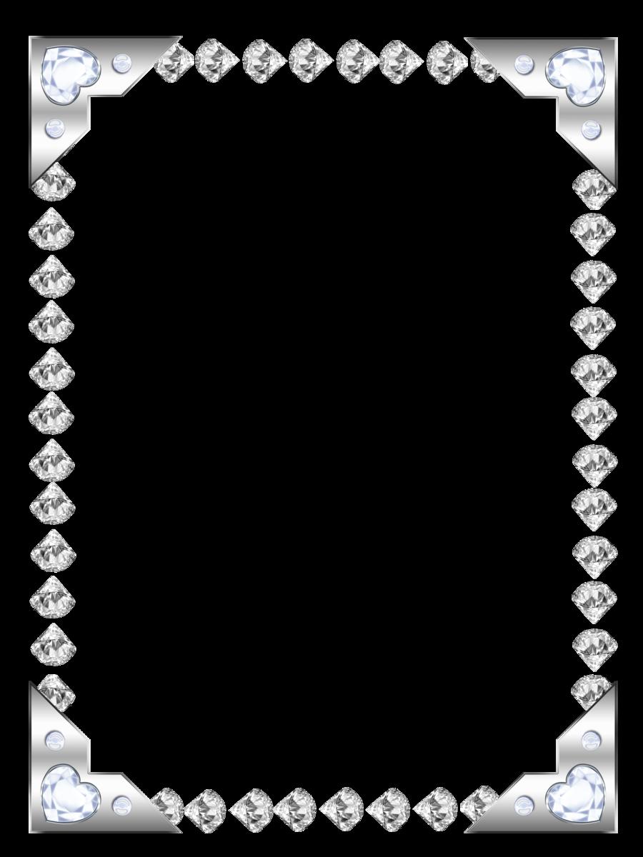 Rhinestone clipart diamond border Google this Vintage  design
