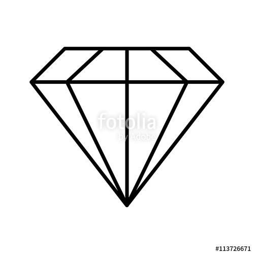 Gems clipart diamond shape Vector image design graphic