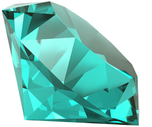Gems clipart diamond shape Diamond mixed Blue media PNG