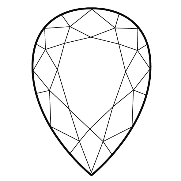 Gems clipart diamond shape Unique stuff  Five Pinterest