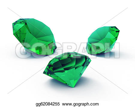 Gems clipart emerald  gg62084255 beautiful Art Illustration