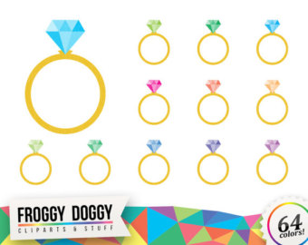Gems clipart engagement ring Luxury Clipart Message Ring Clipart
