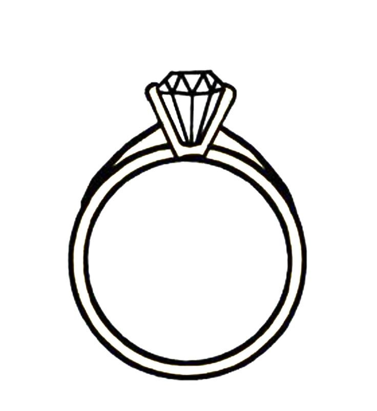 Ring clipart tiffany engagement ring Clip Art Diamond 5 149
