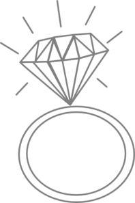 Gems clipart engagement ring Gratis billede Engagement IdeasDiamond ClipartString
