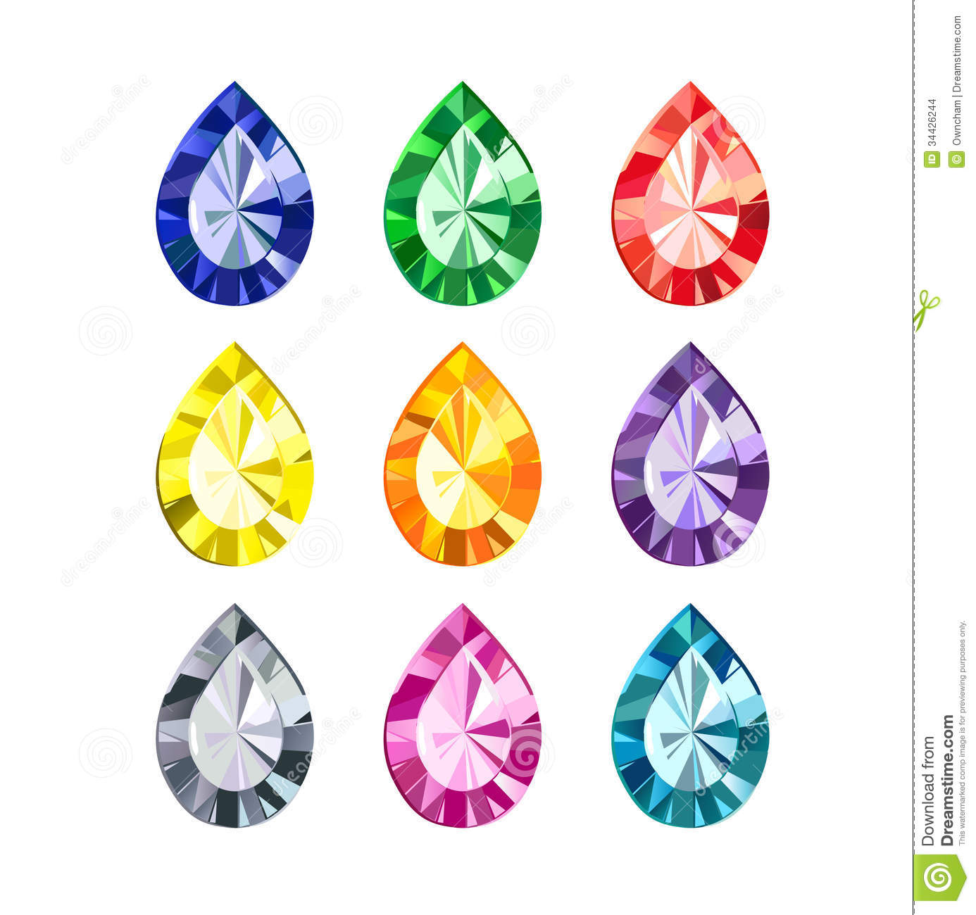 Gems clipart gemstone Jewels Clipart And gemstones Clipart