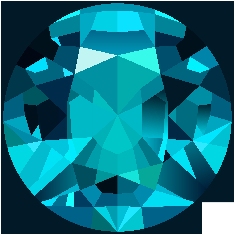 Gems clipart gemstone  Clip Yopriceville High Blue