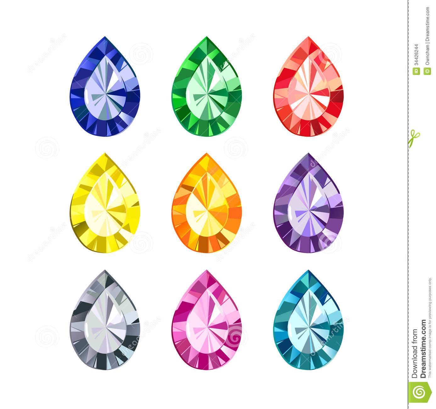 Gems clipart gemstone Collection art  Gemstone Jewels
