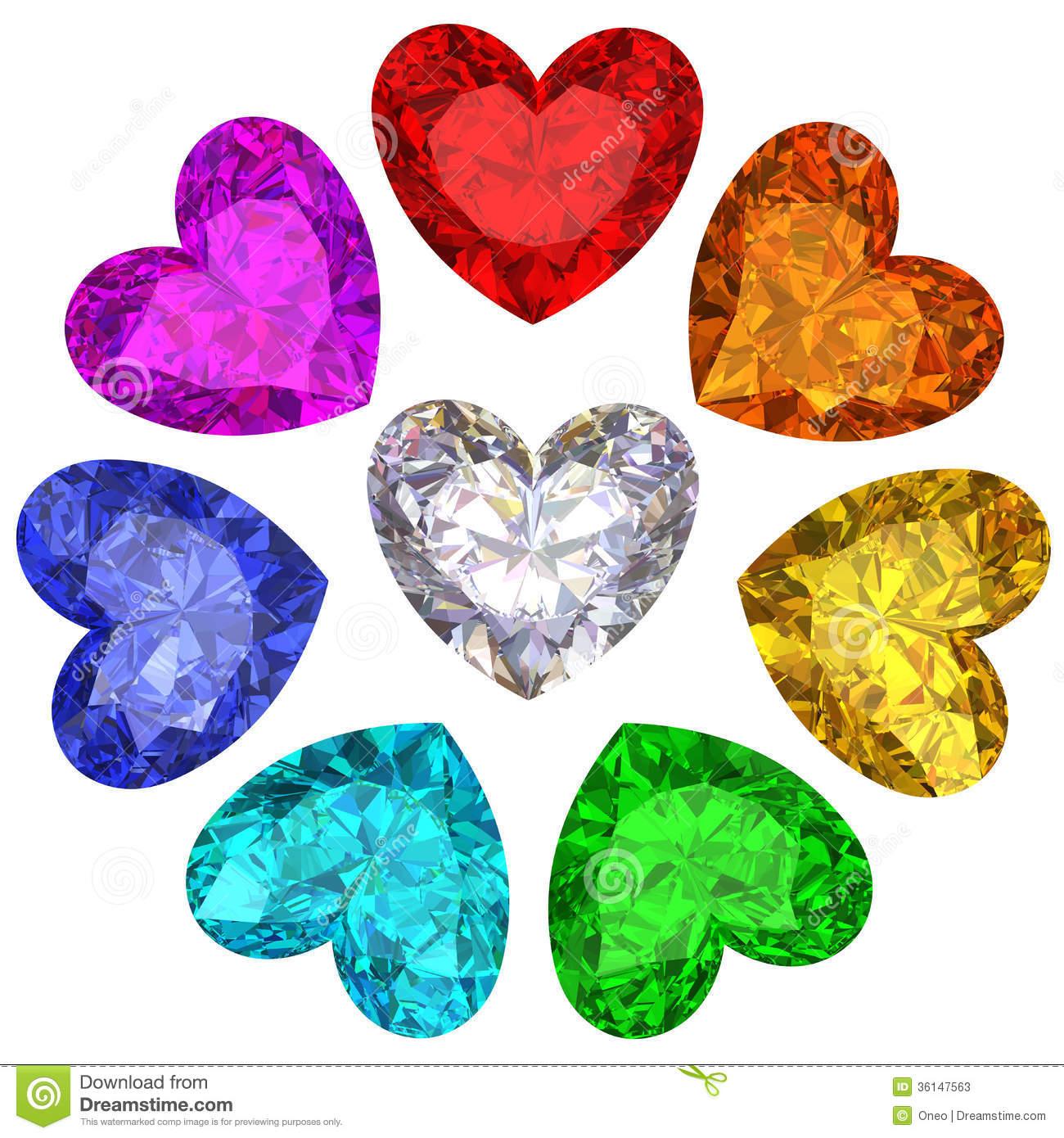 Gems clipart heart Gems 18> Images gems Art