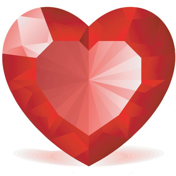 Gems clipart heart Gem Gems Heart Heart Gem