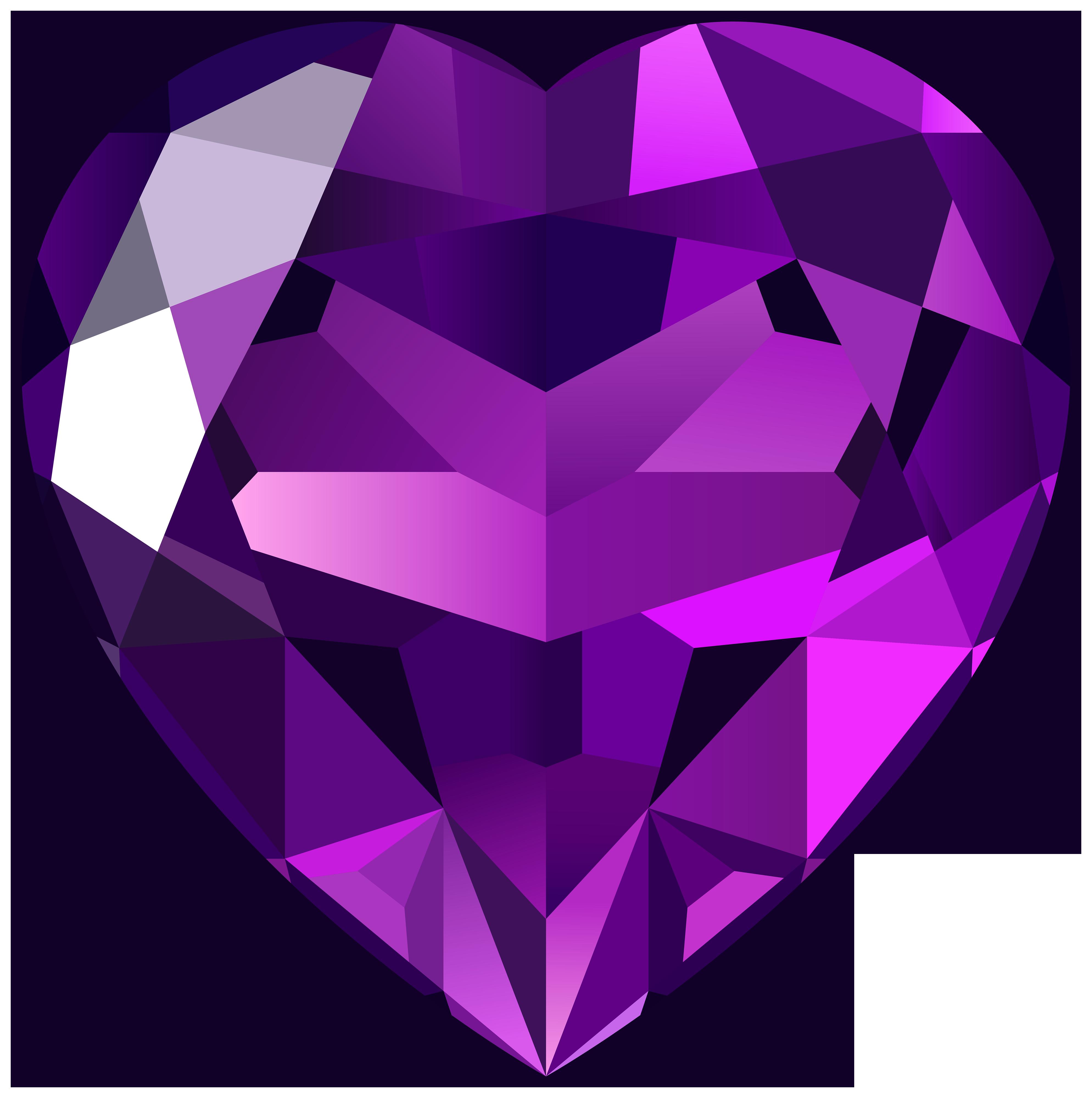 Gems clipart heart PNG Clipart Best Heart Clipart