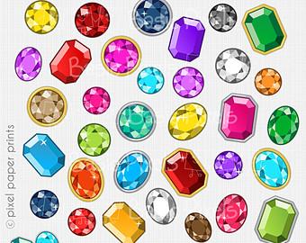 Gems clipart heart Clipart Gems commercial Art clipart