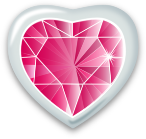 Gems clipart heart Art Cliparts Gems Clip Gem