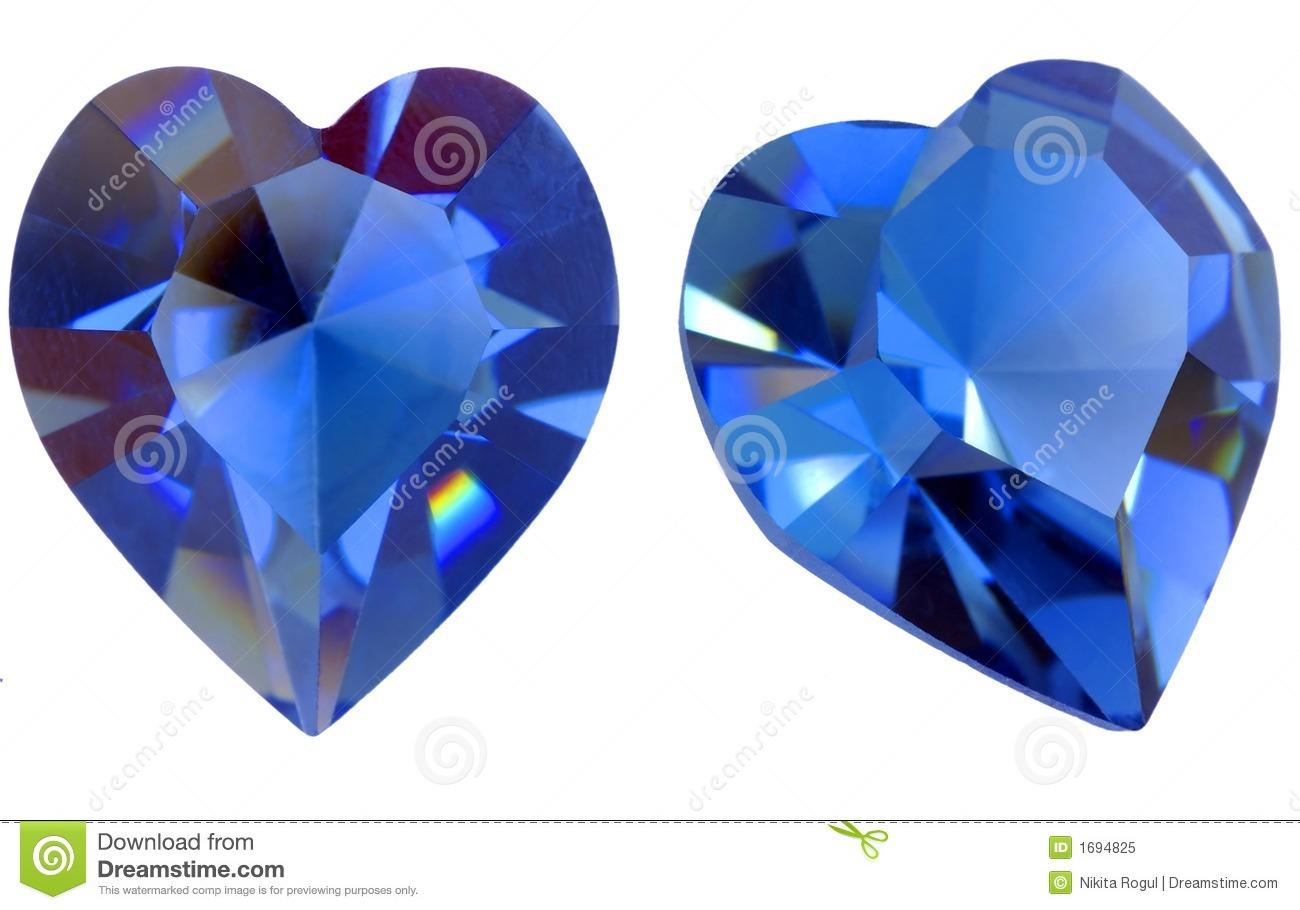 Heart-shaped clipart gem #3