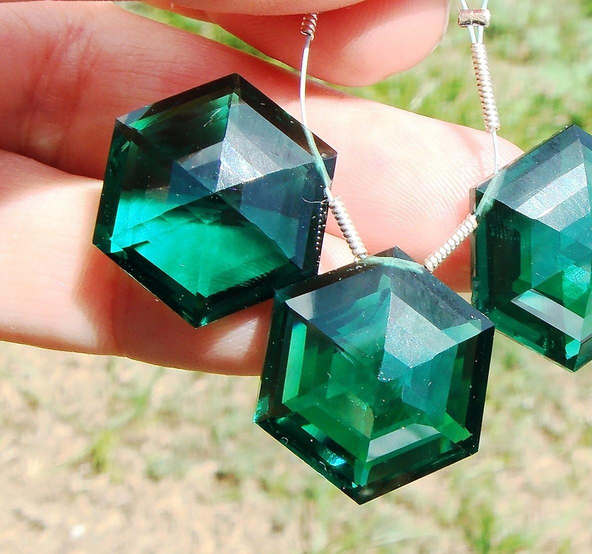 Gems clipart hexagon AAA Hexagon Gemstone Cut Emerald