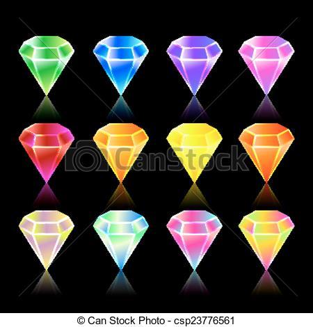 Gems clipart hexagon Star and star hexagon Art