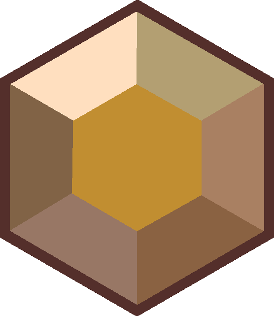 Gems clipart hexagon Jasper hexagonal gemstone on placement