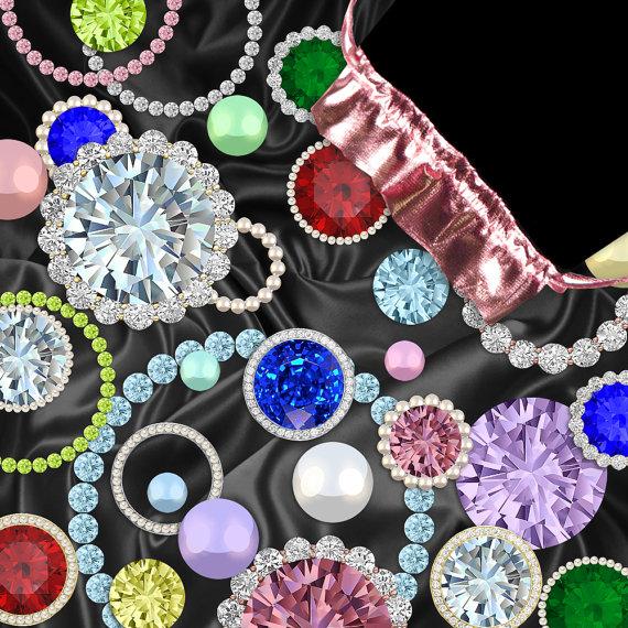 Gems clipart jewellery Diamonds Digital Studio on Ruby