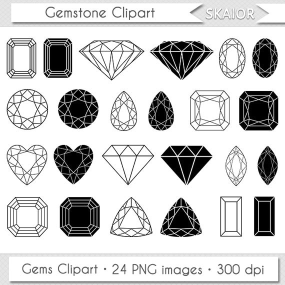 Gems clipart jewellery Gemstone Clipart Jewelry Clipart Gems
