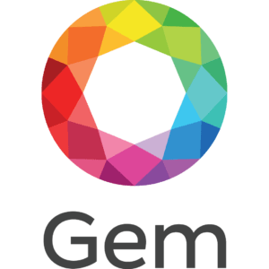 Gems clipart logo Blockchain Introducing operating Vertical GemOS