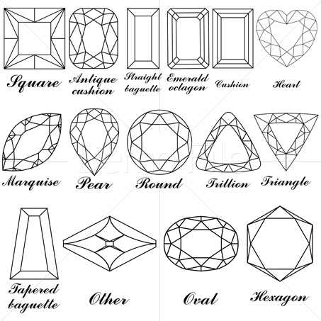 Sketch clipart gemstone Black clipart Pinterest and Vector