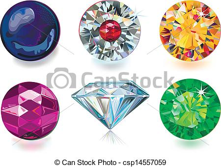 Gems clipart logo Colored on Clipart gems